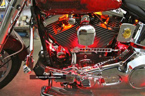 fatboy fires 1994 harley davidson fatboy memorial theme bike