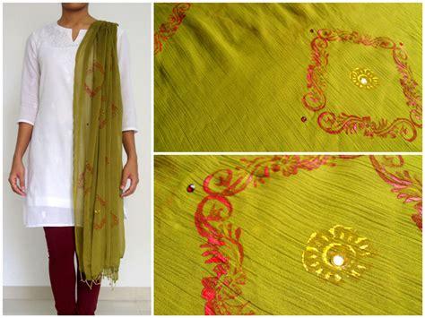 Handmade Gifts India - block printed dupattas for sale handmade gift items
