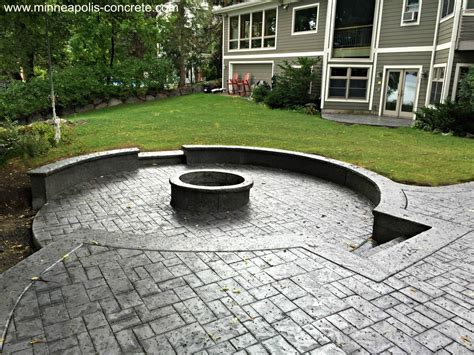 how to install sted concrete patio the kienandsweet