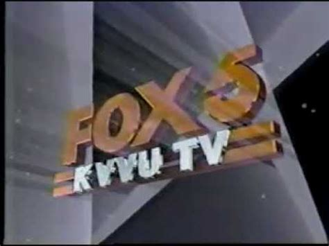 kvvu fox 5 station id and bumper 1991 youtube