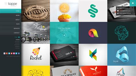 themeforest graphics kappe creative full screen html5 template by