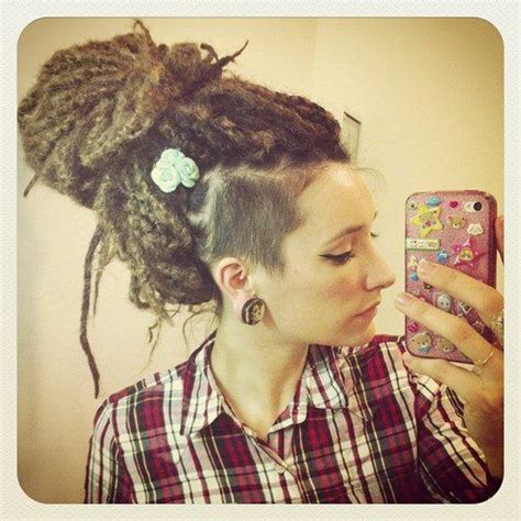 dread locks with shaved side shaved side dreadlocks newhairstylesformen2014 com