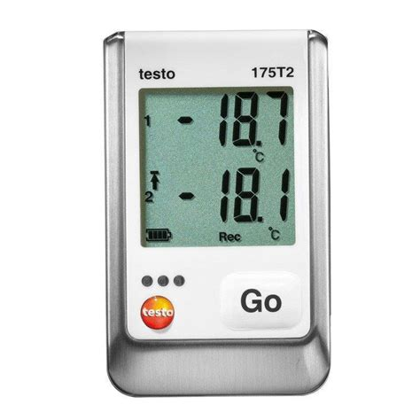 testo cool testo 175 t2 two channel temperature logger cool tools