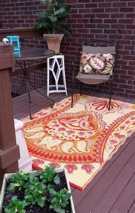 Outdoor Patio Rugs That Can Get Wet Mosaic Gray Outdoor Outdoor Rugs For Decks And Patios