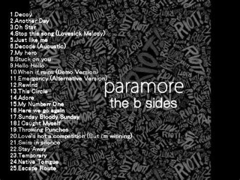 download mp3 full album paramore paramore the b sides full album youtube