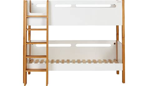 Detachable Bunk Bed George Home Alfie Detachable Bunk Bed Two Tone Beds George At Asda