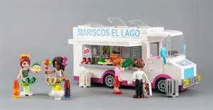 Dog On The Roof by Lego Friends Taco Truck Mariscos El Lago Lago Corazon