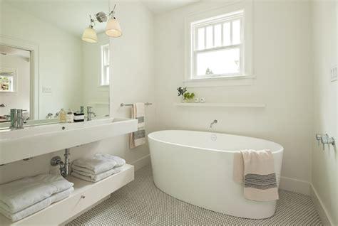 Pink Tile Bathroom Ideas Oval Bathtub Contemporary Bathroom Sophie Burke Design