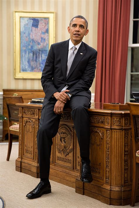 obama resolute desk file barack obama sitting on the resolute desk jpg