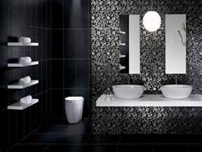 cool white black black bathroom ideas applied for modern cool black and white bathroom design ideas