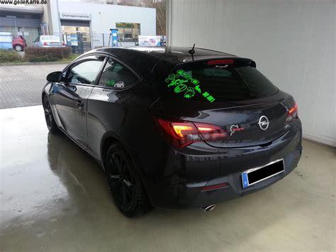 Opel Astra J Aufkleber by Opel Astra J Gtc Karl Klezi Gtc Tuning Community