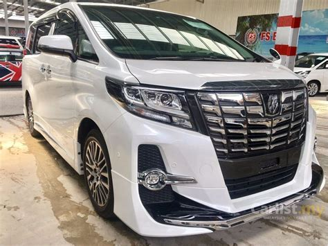2016 Toyota Alphard G A T toyota alphard 2016 g s c package 2 5 in kuala lumpur