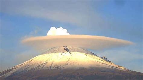 imagenes impactantes de volcanes impactantes nubes en el volc 225 n popocat 233 petl v 205 deo