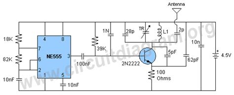 2n2222 transistor 4 watt fm transmitter circuit diagram 2n2222 transistor 4 watt fm transmitter circuit diagram 28 images electronics home for fm