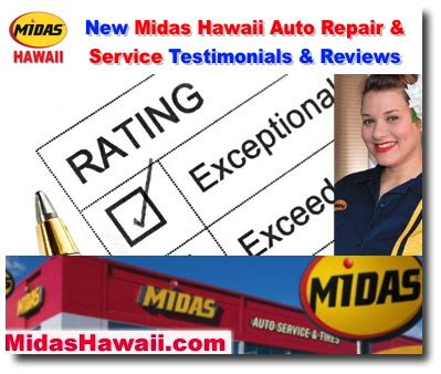 Midas Hawaii Auto Repair Brakes Oil Change Tires