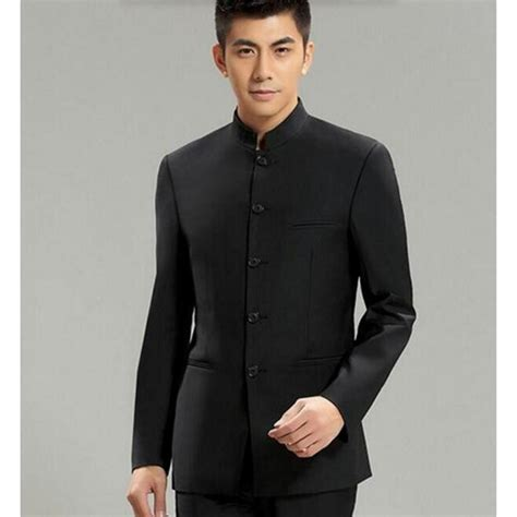 Blazer Hitam Single Buttom aliexpress buy collar suit jacket for