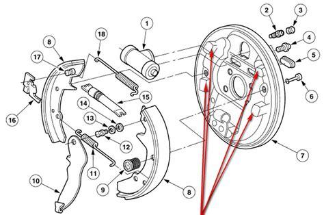 Check Brake System 2005 Ford Taurus 2005 Taurus Sel 50k Milesthe Rear Brakes Loud Speeds