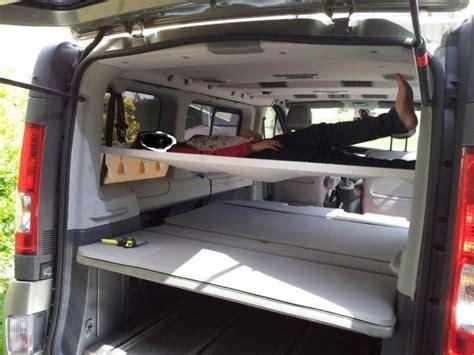 amac cars hamac lit enfant a l arri 232 re du fourgon truck