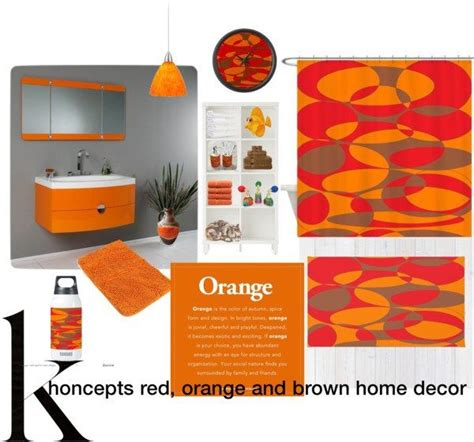 1000 images about home decor orange and brown on