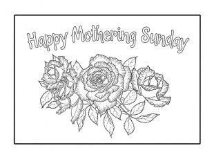 here is a card template for your child to make on mothering sunday cards digi