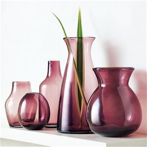 Plum Colored Vases by Pretty Plum Bottles Glass Jars