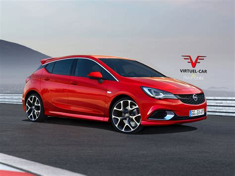 opel vectra 2017 2017 opel astra opc gets rendered proves hatches are