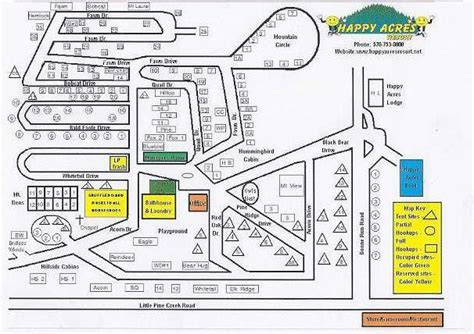 acres resort map happy acres resort 2 photos 1 reviews waterville pa