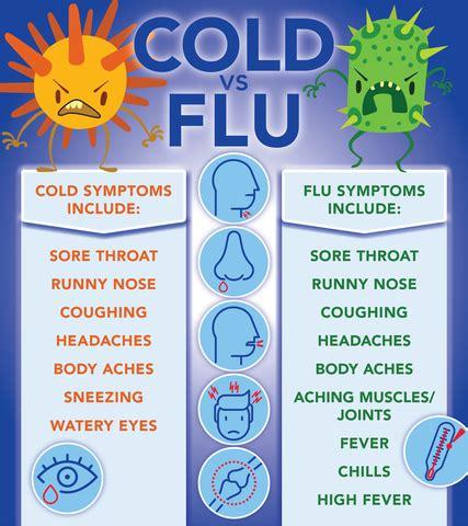 flu symptoms versus cold symptoms wxyz.com