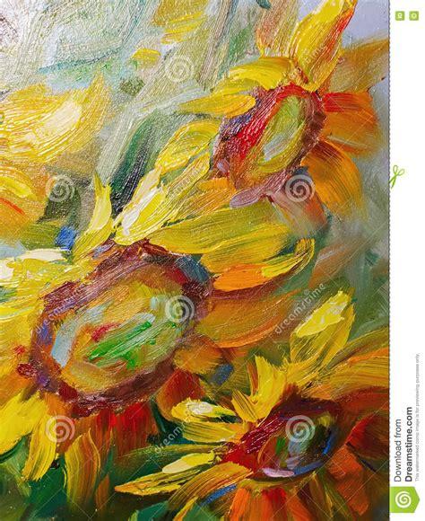 lade ad olio texturera olje m 229 lning blommor konst den m 229 lade