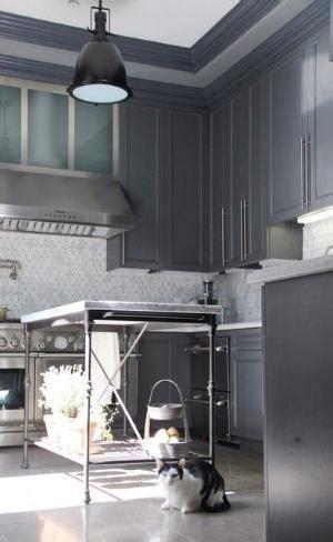 slate grey kitchen cabinets white cabinets subway tile backsplash gray slate tile floors