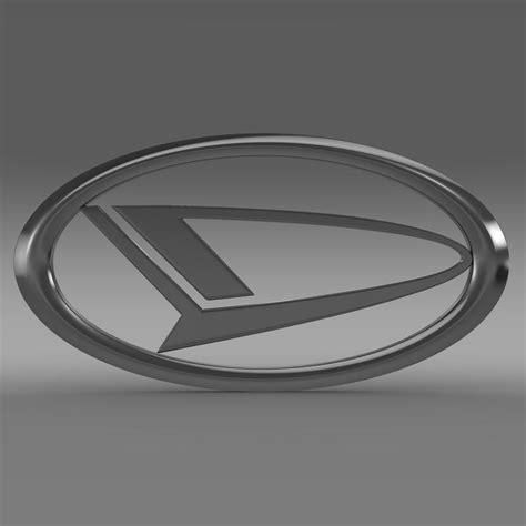 daihatsu logo 3d model buy daihatsu logo 3d model