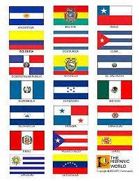 hispanic colors hispanic heritage program month on hispanic