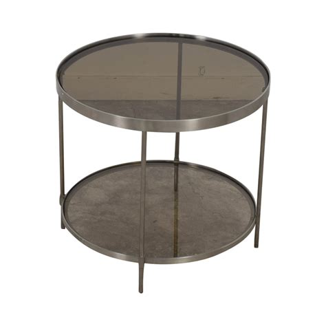 chrome and glass end table 56 glass and chrome end table tables