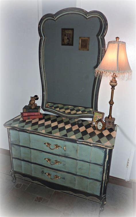 Whimsical French Provincial Dresser With Mirror French Whimsical Bedroom Furniture