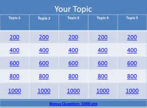 jeopardy template free jeopardy template 36 free word excel ppt pdf format