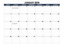 Calendar 2018 Excel Template Malaysia Free Printable 2018 Canadian Calendar Templates With