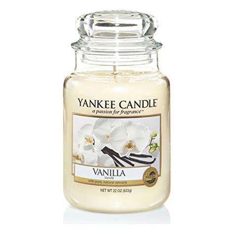 Vanilla Candles by Yankee Candle Vanilla 22oz Large Jar Candles Store