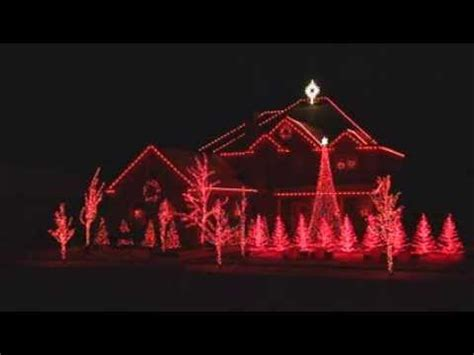 beautiful house computer controlled christmas lights youtube