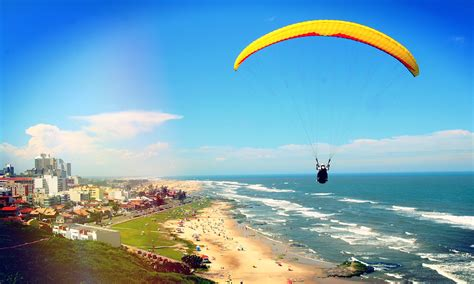 Paragliding! Up is Good