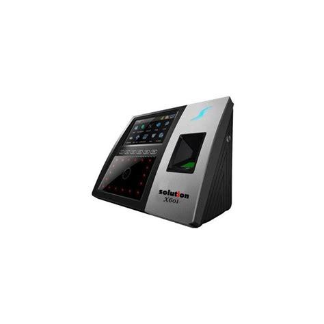 Absensi Wajah Solution X 606 harga jual solution x601 mesin absensi wajah dan akses kontrol pintu