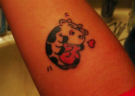 cow tattoo 25 cool cow ideas