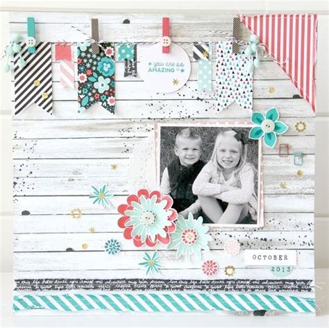 scrapbook layout holder we love this scrapbook page made with the all boxed up
