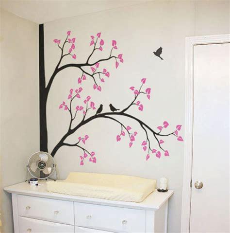 ramas decoracion interiores hermoso vinilo decorativo 193 rbol y flores sala rec 225 mara
