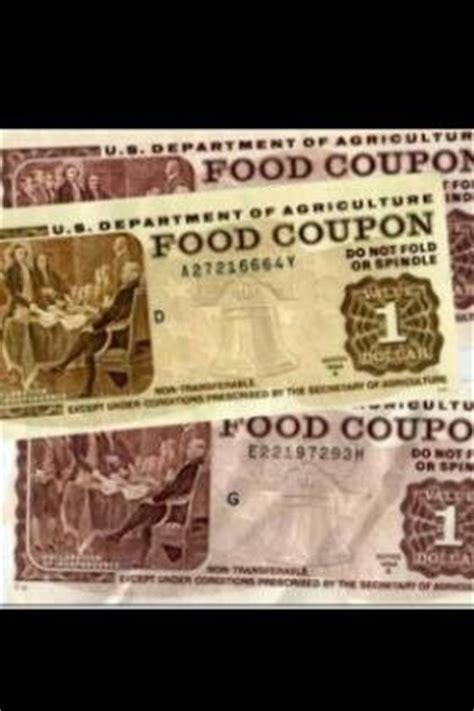 paper food stamps | old school memories | pinterest | the