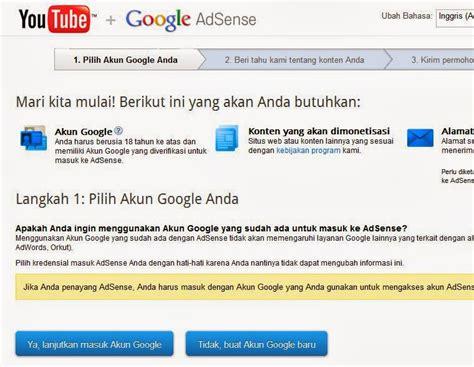 tutorial daftar google adsense berita seputar internet berita seputar internet daftar