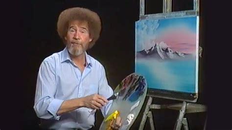 bob ross painting netflix a twist on netflix and chill