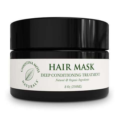 organic hair mask moss naturals