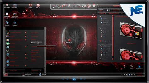 themes for windows 8 1 alienware windows 8 theme transform windows 8 to alienware red