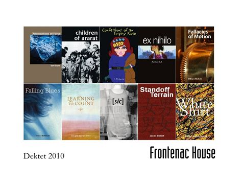 cadence a book of poems books frontenac house dektet 2010 10 poetry books publishing