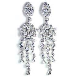 chandelier earrings swarovski chandelier earrings bridal jewellery